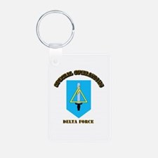 SOF - Delta Force Aluminum Photo Keychain