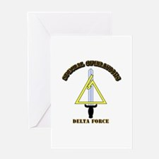 SOF - Delta Force Greeting Card