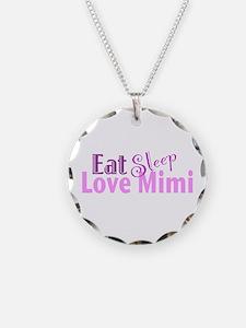 Eat Sleep Love Mimi Necklace