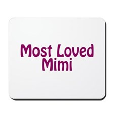 Most Loved Mimi Mousepad