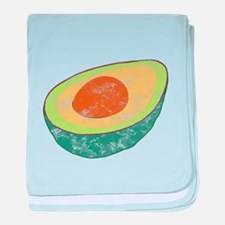 For Those About to Guac baby blanket
