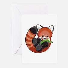 Red Panda Greeting Cards (Pk of 10)