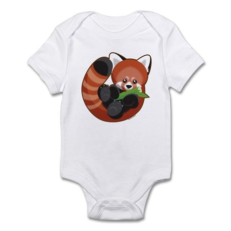 Red Panda Infant Bodysuit