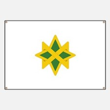 Cute Military police insignia Banner