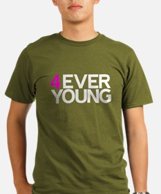 4EVER YOUNG ORGANIC Men's Tee (Colours)