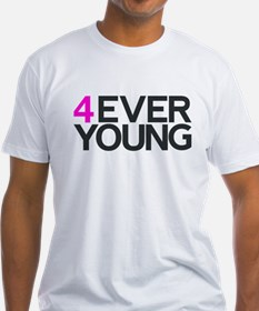 4EVER YOUNG Fitted Tee (White)