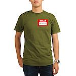 Hello I'm Money Organic Men's T-Shirt (dark)
