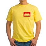 Hello I'm Money Yellow T-Shirt