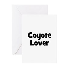 Coyote Lover Greeting Cards (Pk of 10)