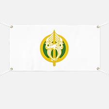 Unique Military police insignia Banner