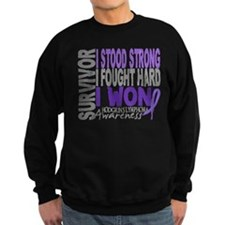 Survivor 4 Hodgkin's Lymphoma Jumper Sweater