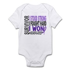 Survivor 4 Hodgkin's Lymphoma Infant Bodysuit