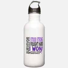Survivor 4 Hodgkin's Lymphoma Water Bottle