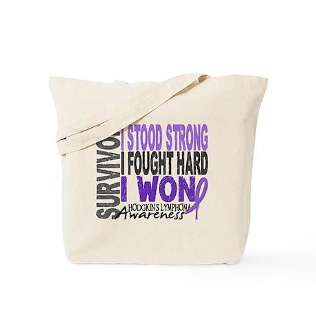 Survivor 4 Hodgkin's Lymphoma Tote Bag