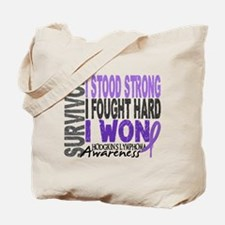 Survivor 4 Hodgkin's Lymphoma Tote Bag