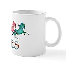 many leaping horses Mug