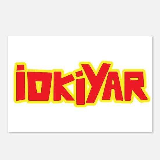 IOKIYAR Postcards (Package of 8)