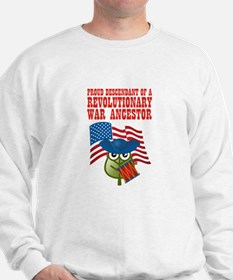 Revolutionary War Ancestor Sweatshirt