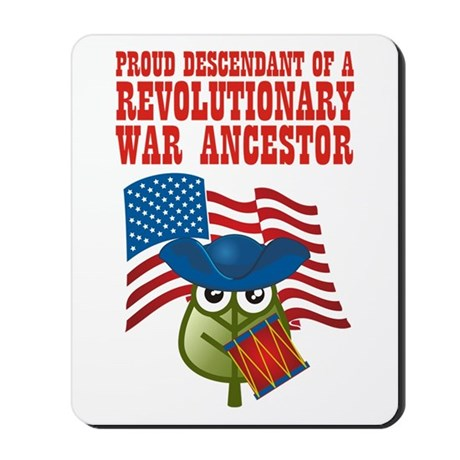 Revolutionary War Ancestor Mousepad