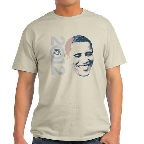 2012 Obama Face Light T-Shirt