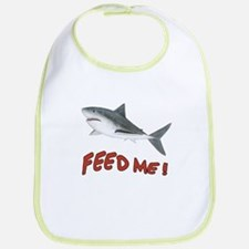 Shark - Feed Me Bib