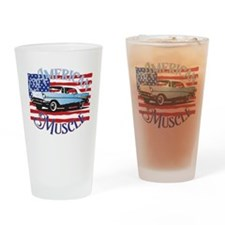 57 Chevy American Muscle Pint Glass