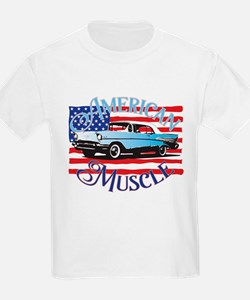 57 Chevy American Muscle T-Shirt