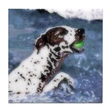 German Shorthair Pointer Dog Art Tile