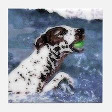 German Shorthair Pointer Dog Art Tile