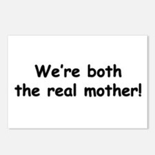 We're both the real mother! Postcards (Package of