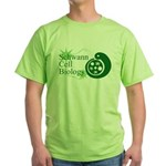 Schwann Cell Biology Green T-Shirt
