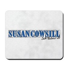 Susan Cowsill Name Tile Mousepad