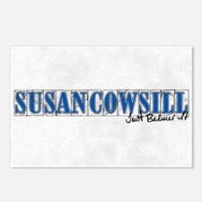 Susan Cowsill Name Tile Postcards (Package of 8)
