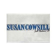 Susan Cowsill Name Tile Rectangle Magnet