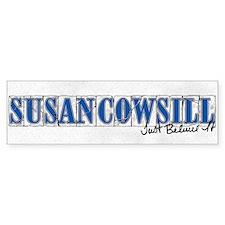 Susan Cowsill Name Tile Bumper Bumper Sticker