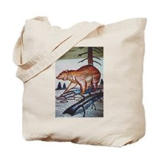 HUNTING BEAR MOSIAC IN THE WILD_ Tote Bag