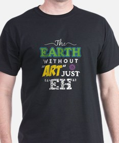 Cute Earth without art T-Shirt