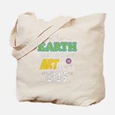 Cute Earth without art Tote Bag