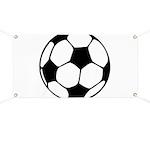Soccer Football Icon Banner