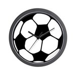 Soccer Football Icon Wall Clock