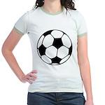 Soccer Football Icon Jr. Ringer T-Shirt