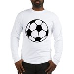 Soccer Football Icon Long Sleeve T-Shirt