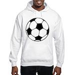 Soccer Football Icon Hooded Sweatshirt