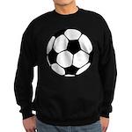 Soccer Football Icon Sweatshirt (dark)