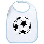 Soccer Football Icon Bib