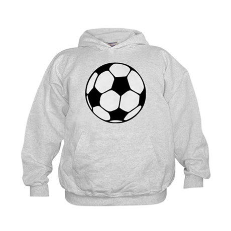 Soccer Football Icon Kids Hoodie