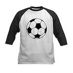 Soccer Football Icon Kids Baseball Jersey