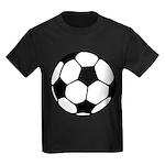 Soccer Football Icon Kids Dark T-Shirt