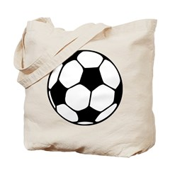 Soccer Football Icon Tote Bag
