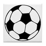 Soccer Football Icon Tile Coaster
